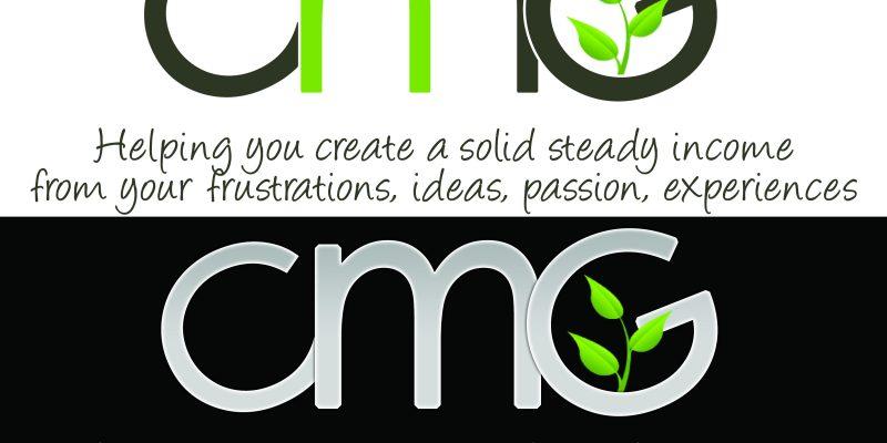 Create manage Grow Logo