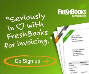 Loving FreshBooks for my invoicing