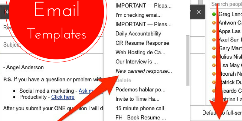 21 Email Templates Absolutely Will Make You a Productivity Ninja