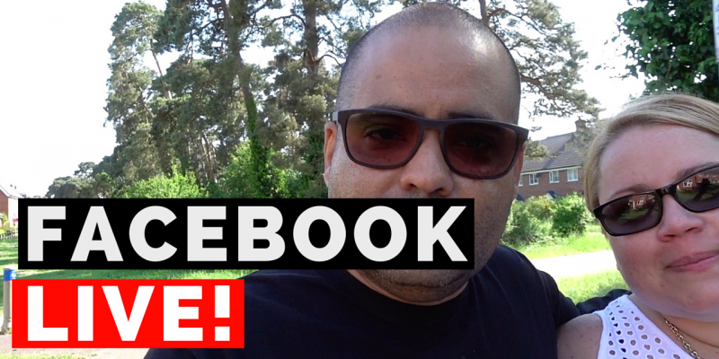 What I learned from my first Facebook Live Stream