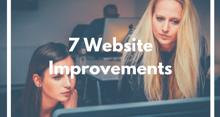 7 website improvements entrepreneurs should do in 2017